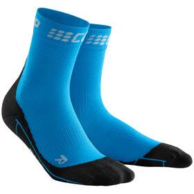 cep Winter Short Socks Men electric blue/black